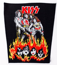 KISS Back Patch - Lick it Up