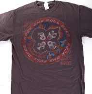 KISS T-Shirt - Rock and Roll Over, Rust, (size M)