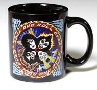 KISS Coffee Mug - Rock and Roll Over