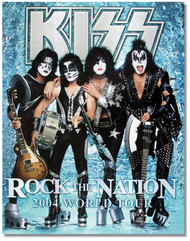 KISS Tourbook - Rock the Nation 2004