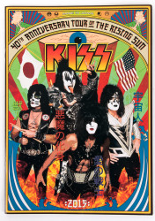 KISS Tourbook - 40th Anniversary tour of the Rising Sun, Japan 2015