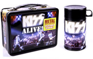 KISS Lunchbox - Alive!, (with thermos)
