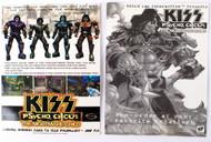 KISS Postcard - Psycho Circus Nightmare Child