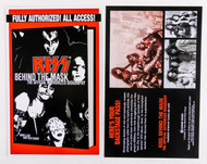 KISS Postcard - Behind the Mask
