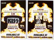 KISS Postcard - MP3/CD Live