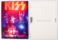 KISS Postcard - Reunion Live Video Screen