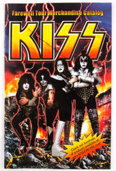 KISS Catalog - KISS Farewell Official Merchandise