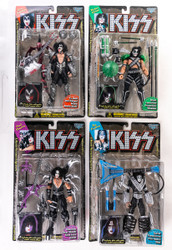 KISS McFarlane Figures - Solo Records INSIDE the jacket