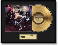 KISS Gold Record - Alive! LP