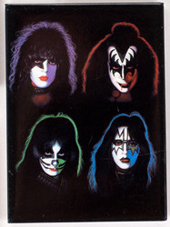 KISS Magnet - KISS Solo Faces