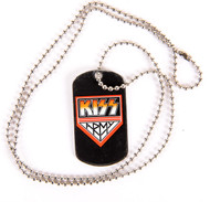 KISS Necklace - KISS Army Metal Dog Tag