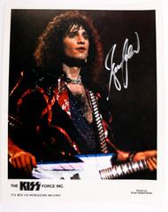 KISS Autograph - Bruce Kulick, KISS Force Photograph