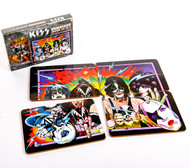 KISS Coasters - Unmasked, set of 4