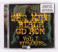KISS Audio CD - The KISS Bible CD ROM - SEALED