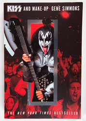 "KISS Book - KISS and Make Up - Gene Simmons paperback (""I"")"