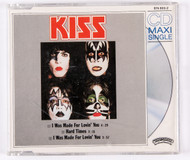 KISS Audio CD - I Was Made For Loving You, CD single, German