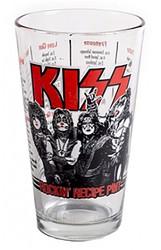 KISS Pint Glass - Rockin' Recipe