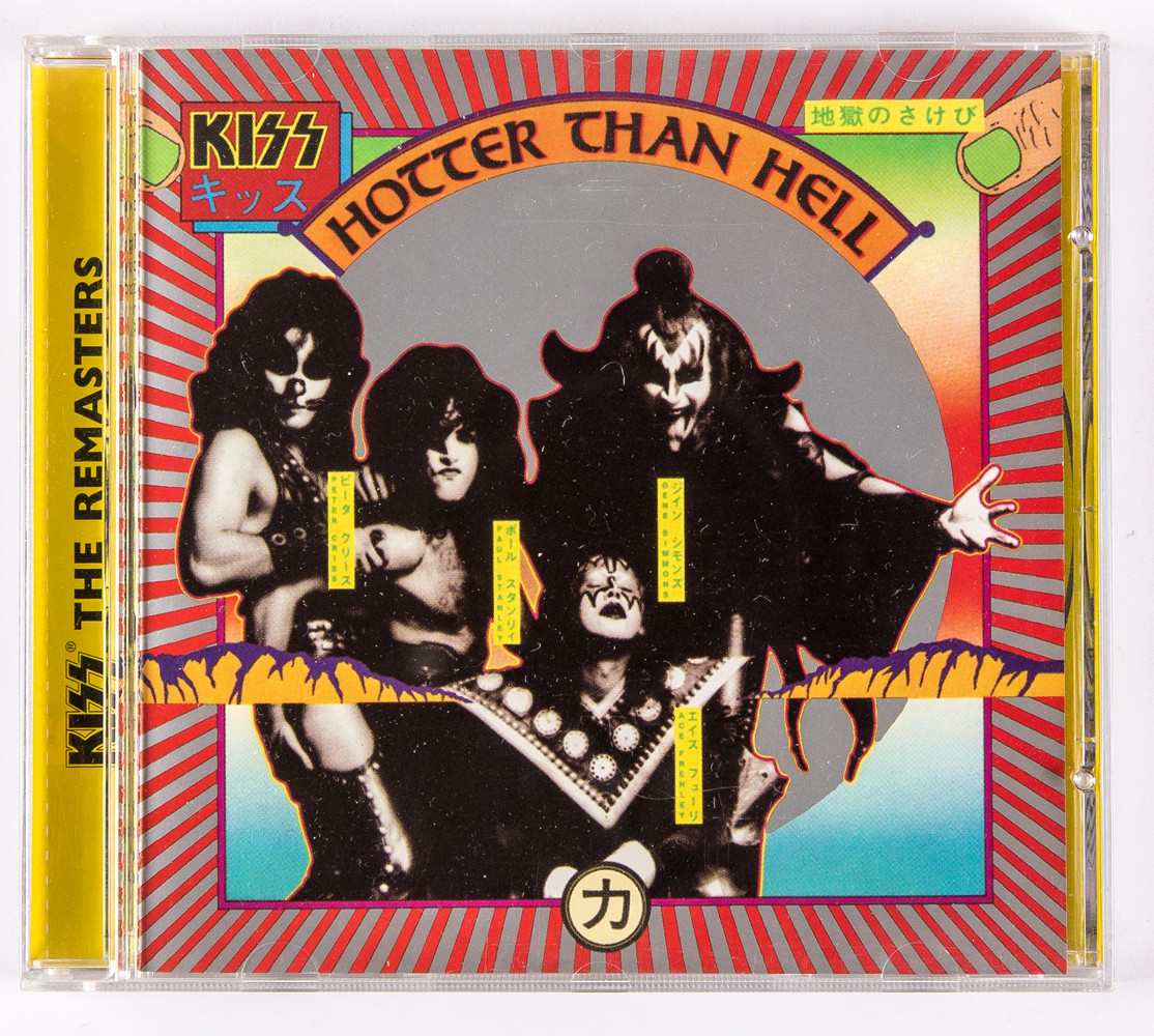 KISS Audio CD Hotter Than Hell, The REMASTERS KISS Museum
