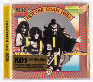 KISS Audio CD - Hotter Than Hell, The REMASTERS, (sealed)