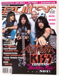 KISS Magazine - Guitar w/Anthrax, 1993