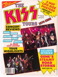 KISS Magazine - The KISS Tours, 1988