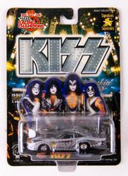 KISS Racing Car - Racing Champions Silver