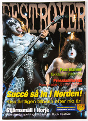 KISS Magazine - Destroyer, Sweden 2008, #22