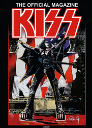 KISS Magazine - Official KISS Magazine 2018, Gene Cover