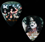 KISS Guitar Pick - Monster New York, 10/11/2012, Tommy, (version 2, large portrait)