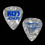 KISS Guitar Pick - Alive 35, Pearl Blue Signature, Tommy