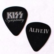 KISS Guitar Pick -  KISS Symphony, Alive IV, Australia