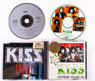 KISS Audio CD - Unholy/Fifteen Years on double CD