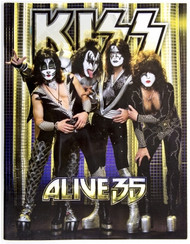 KISS Tourbook - Alive 35, AUSTRALIA.
