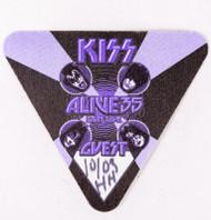 KISS Backstage Pass - Alive 35 2009 Guest Purple, cloth