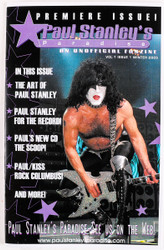 KISS Fanzine - Paul Stanley's Paradise, issues #1