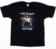 KISS T-Shirt - Paul Stanley Live to Win solo tour 2006, (size XL)