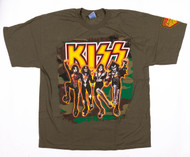 KISS T-Shirt - Destroyer Olive, (size XL)