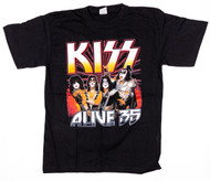 KISS T-Shirt - Alive 35 2006, If it's Too Loud You're Too Old (size M)