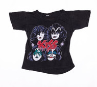 KISS T-Shirt - Vintage '70s Shirt, Return of KISS,  (washed and worn), size S, (6/10 condition)