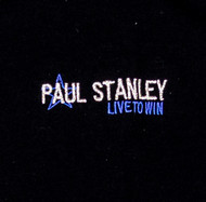 Paul Stanley Polo Shirt - Live to Win, (size L)
