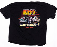KISS T-Shirt - KISS Coffeehouse, Motorcycles, (size 2XL)