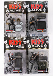 KISS McFarlane Figures - Alive, (set of 4)