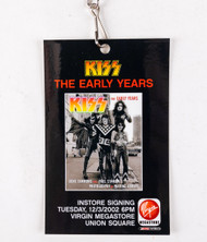 KISS Laminate - The Early Years Book in-store signing