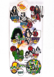 KISS Hard Rock Cafe Pins - Nagoya Complete Packaged Set