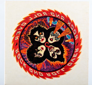 KISS Temporary Tattoo - Rock and Roll Over