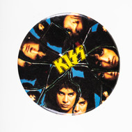 KISS Button - Crazy Nights album cover front