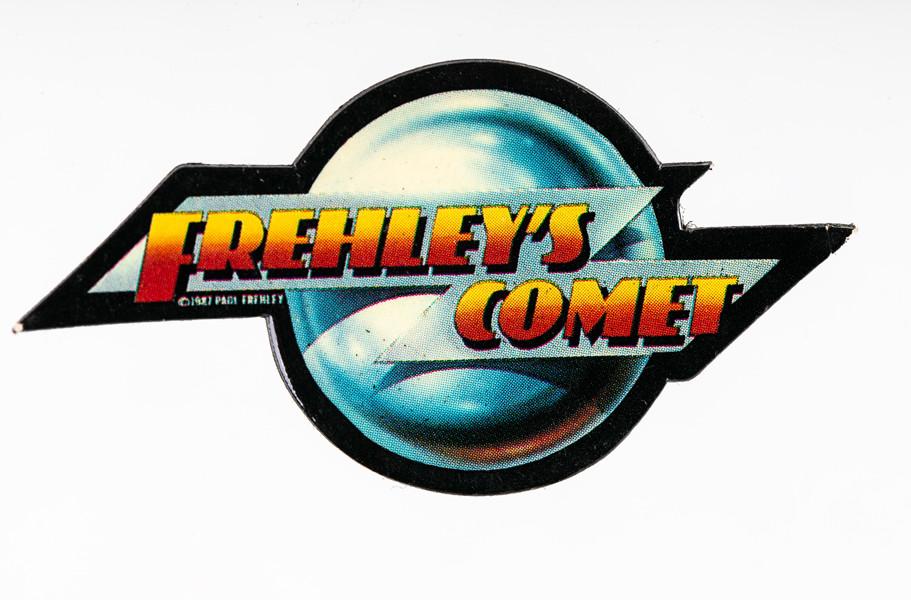 Frehley S Comet Button Logo Kiss Museum
