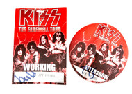 KISS Backstage Pass - Farewell Tour Red, set of 2