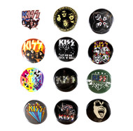 KISS Buttons - set of 12 for 2018