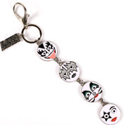 KISS Keychain - Round Face Icons